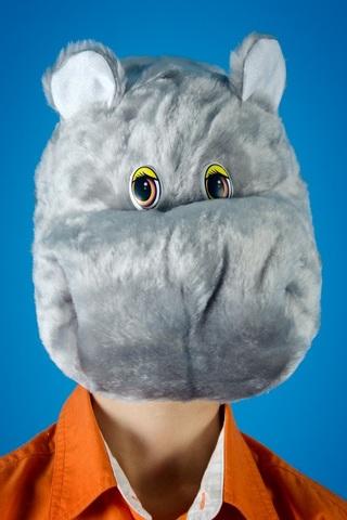 Карнавальная шапочка Бегемота 1