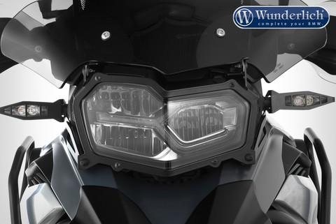 Защита фары складная BMW F850/750 GS - прозрачная