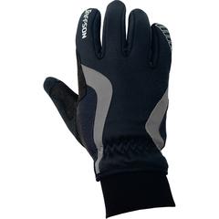 Велоперчатки JAFFSON WCG 43-0476 (чёрный/серый)