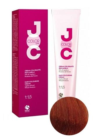 Крем-краска для волос 7.40 блондин интенсивный медный JOC COLOR, Barex