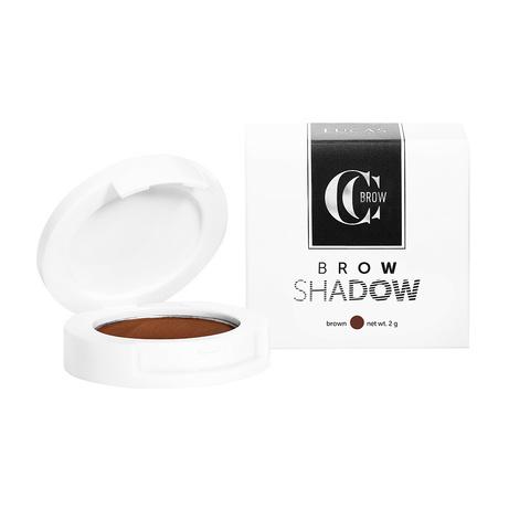 Тени для бровей Brow Shadow CC Brow, коричневый