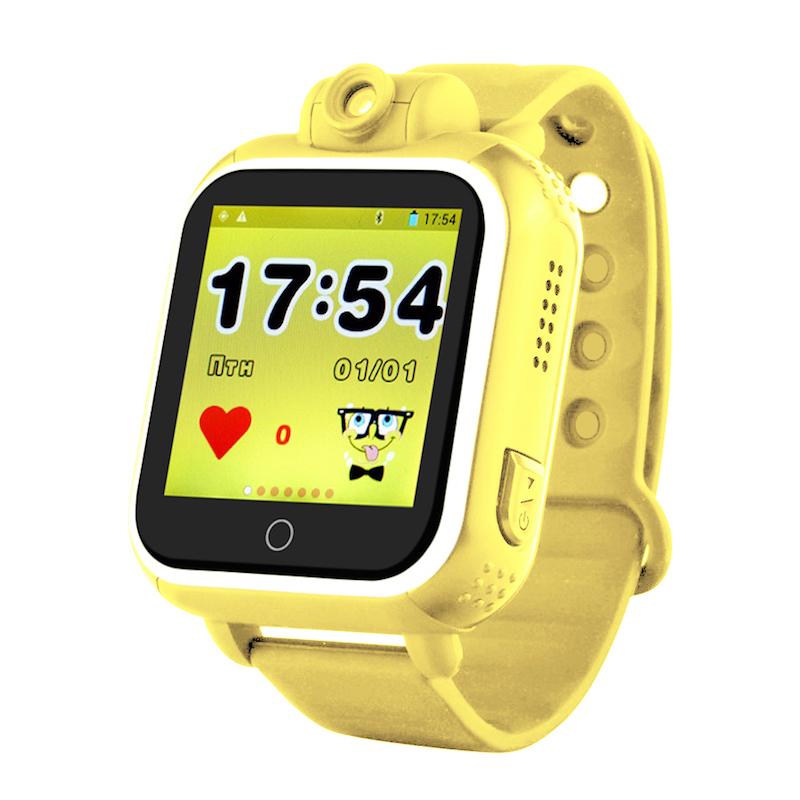 Жёлтый вариант цвета Smart Baby Watch Q100/GW1000