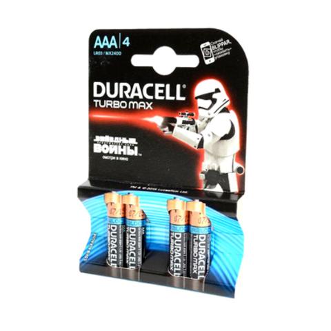 """Батарейка мизинчиковая""""DURACELL TURBO MAX"""""""
