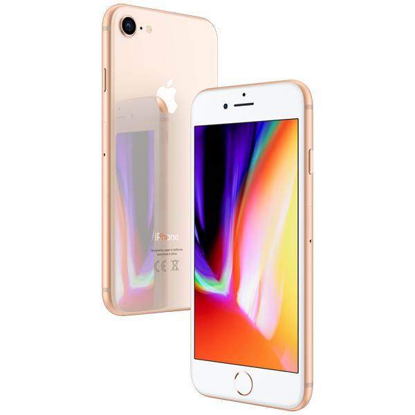 iPhone 8, 64 ГБ, золотой