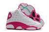 Air Jordan 13 GS 'White/Pink'