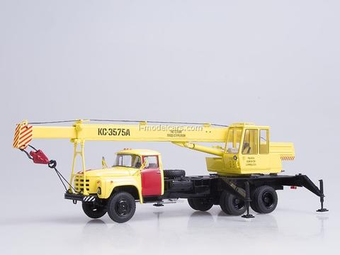 ZIL-133GYa KS-3575A Truck Crane Emergency service Start Scale Models (SSM) 1:43