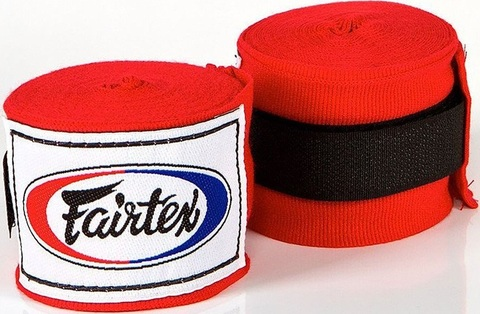 Бинты Fairtex Handwrap HW2 Red 4.5м