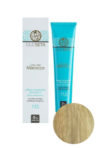 Крем-краска для волос 9.0 Супер светлый блондин Oro del Marocco, Barex