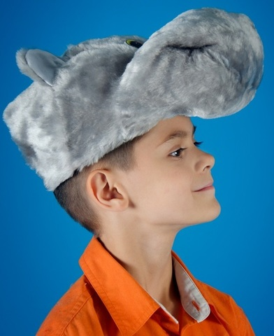 Карнавальная шапочка Бегемота 2