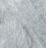 Пряжа Alize Mohair Classic New 614 серый меланж