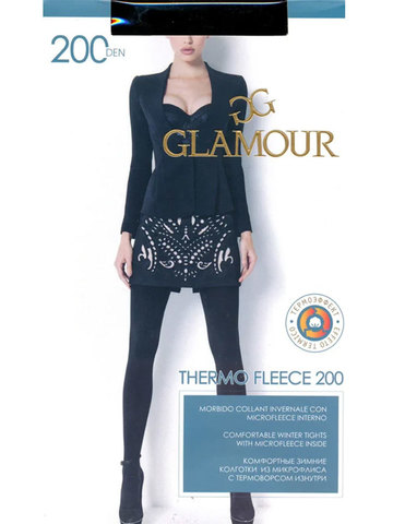 Колготки Thermo Fleece 200 Glamour