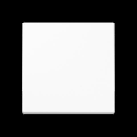 Клавиша одноклавишного выключателя. Цвет Белый. JUNG A. A590WW