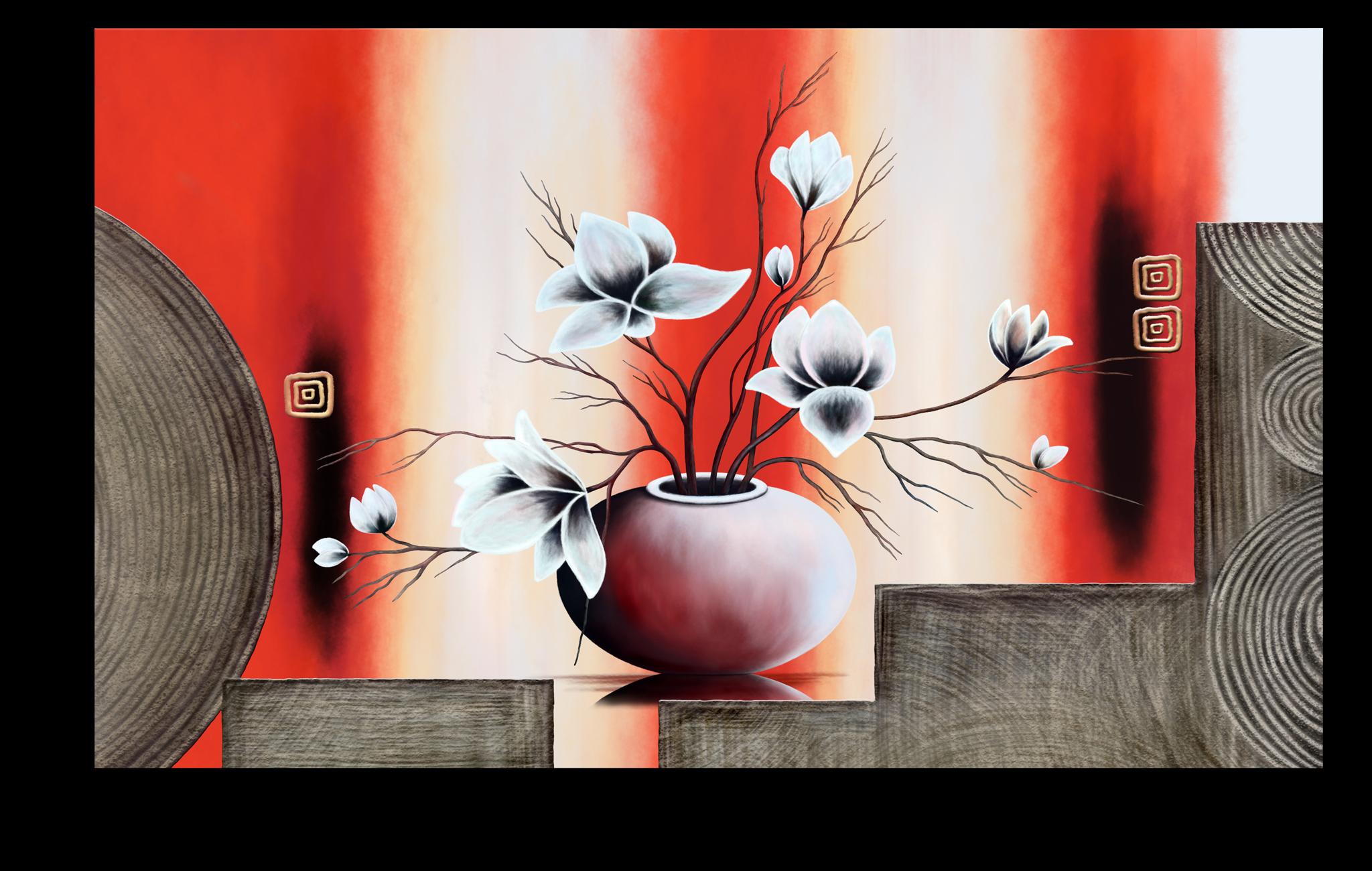 "Постеры Постер ""Красная ваза"" п118.png"