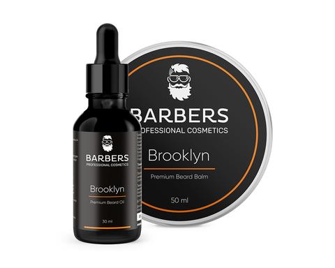 Набор для ухода за бородой Barbers Brooklyn 80 мл (1)