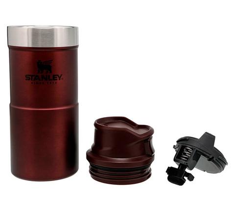 Термокружка Stanley Classic (0,35 литра), бордовая