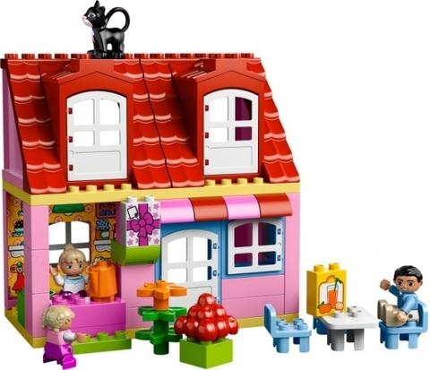 LEGO Duplo: Кукольный домик 10505 — Play House — Лего Дупло