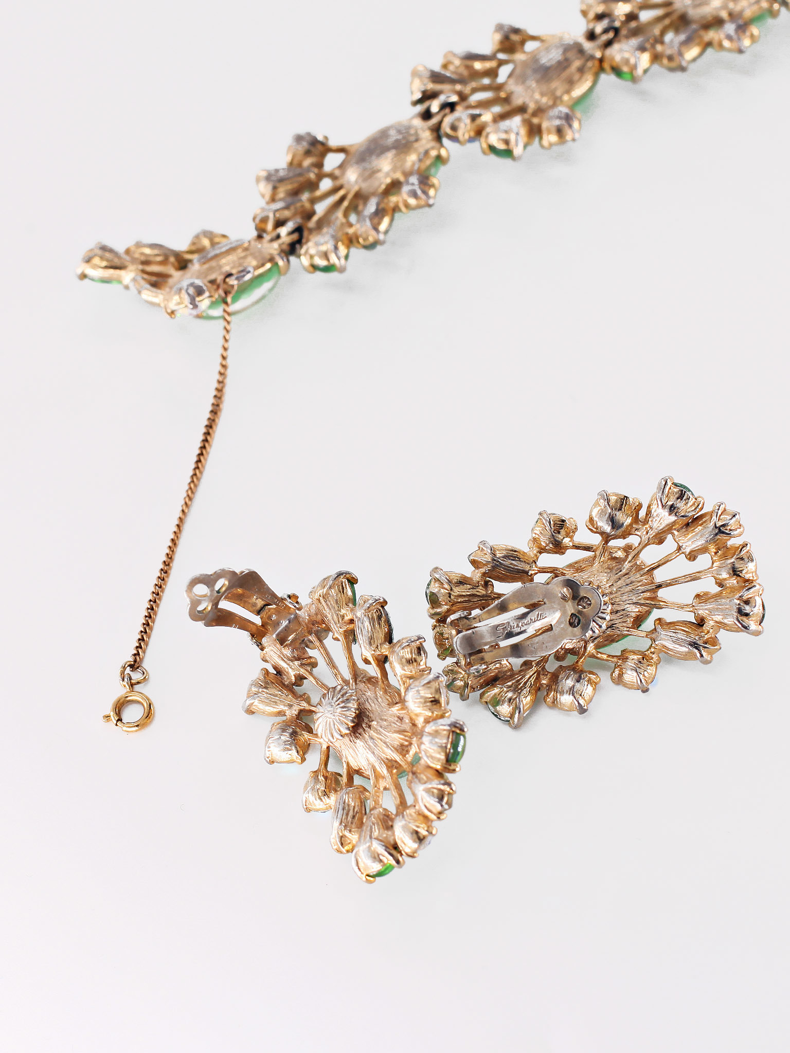 Сюрреалистический комплект от Schiaparelli