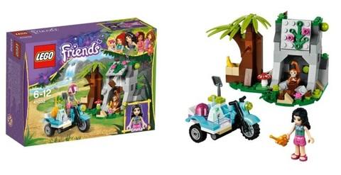 LEGO Friends: Мотоцикл скорой помощи 41032 — First Aid Jungle Bike — Лего Подружки джунгли