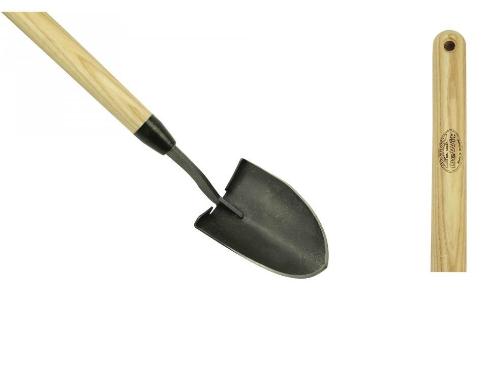 Маленькая лопата DeWit рукоятка 750мм