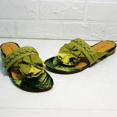 Шепки сандалии женские Marco Tozzi 2-27104-20 Green.