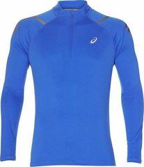 Рубашка беговая Asics Icon Ls 1/2 Zip Top Blue мужская