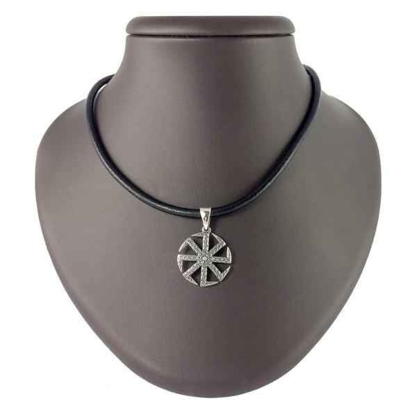 Кулоны из серебра Оберег Коловрат кулон kolovrat-serebryaniy-maliy-1.jpg