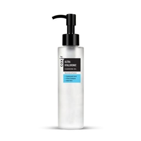 Масло очищающее гидрофильное с гиалуроновой кислотой COXIR Ultra Hyaluronic Cleansing Oil 150мл