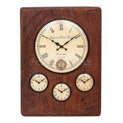 Часы Secret De Maison QUARTA ( mod. FS-1437) — античный коричневый