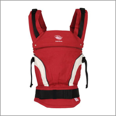 Слинг-рюкзак Manduca Baby Carrier New Style Red (Красный)