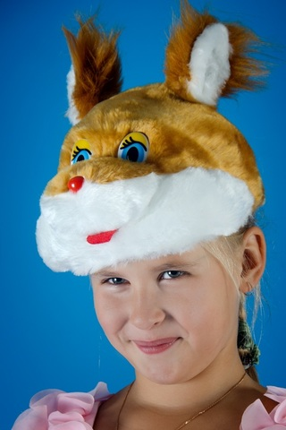 Карнавальная шапочка Белочка