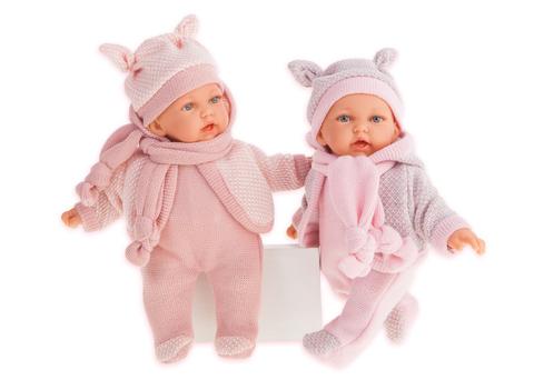 Antonio Juan. Кукла Ромина в розовом, озвуч., 27 см