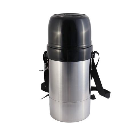 Термос Амет DN Дорожный (1 литр) с узким горлом, на ремне