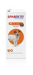 Бравекто от клещей и блох для собак от 4,5 до 10 кг (250 мг)