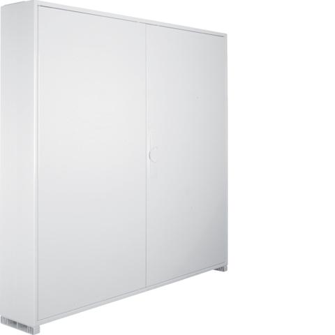 Щиток открытой установки,секционный,с оснасткой,IP44,950x1050x161мм (ВхШхГ),две двери,RAL9010
