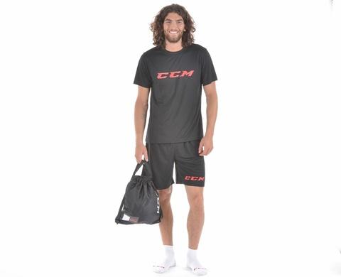 Тренировочный комплект (шорты + футболка) CCM DRYLAND KIT JR 120