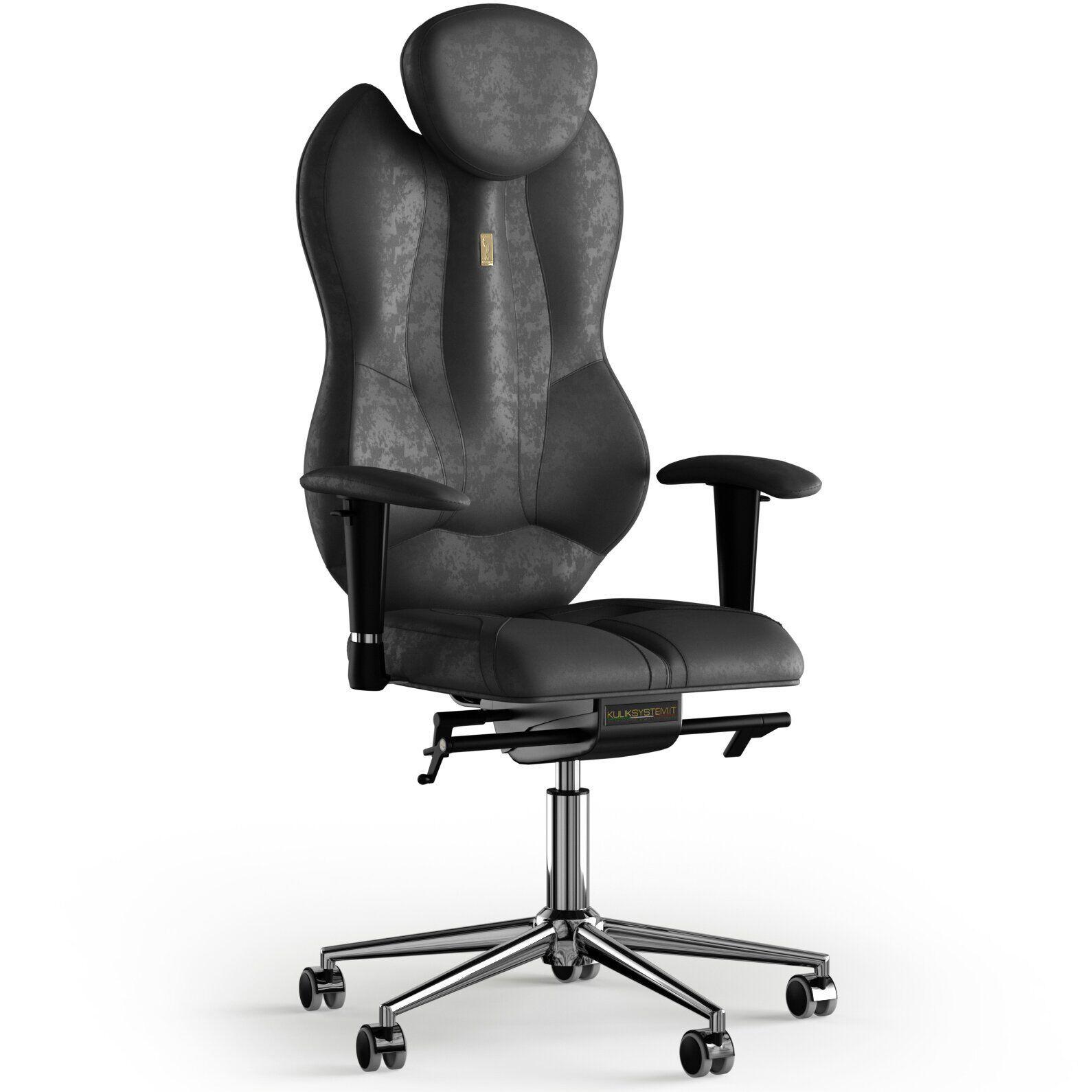 Кресло KULIK SYSTEM GRAND Антара с подголовником без строчки