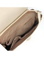 Рюкзак женский искусственная кожа молочного цвета
