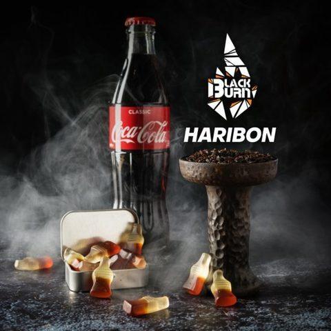 Табак Burn Black Haribon (Мармелад кола) 200г