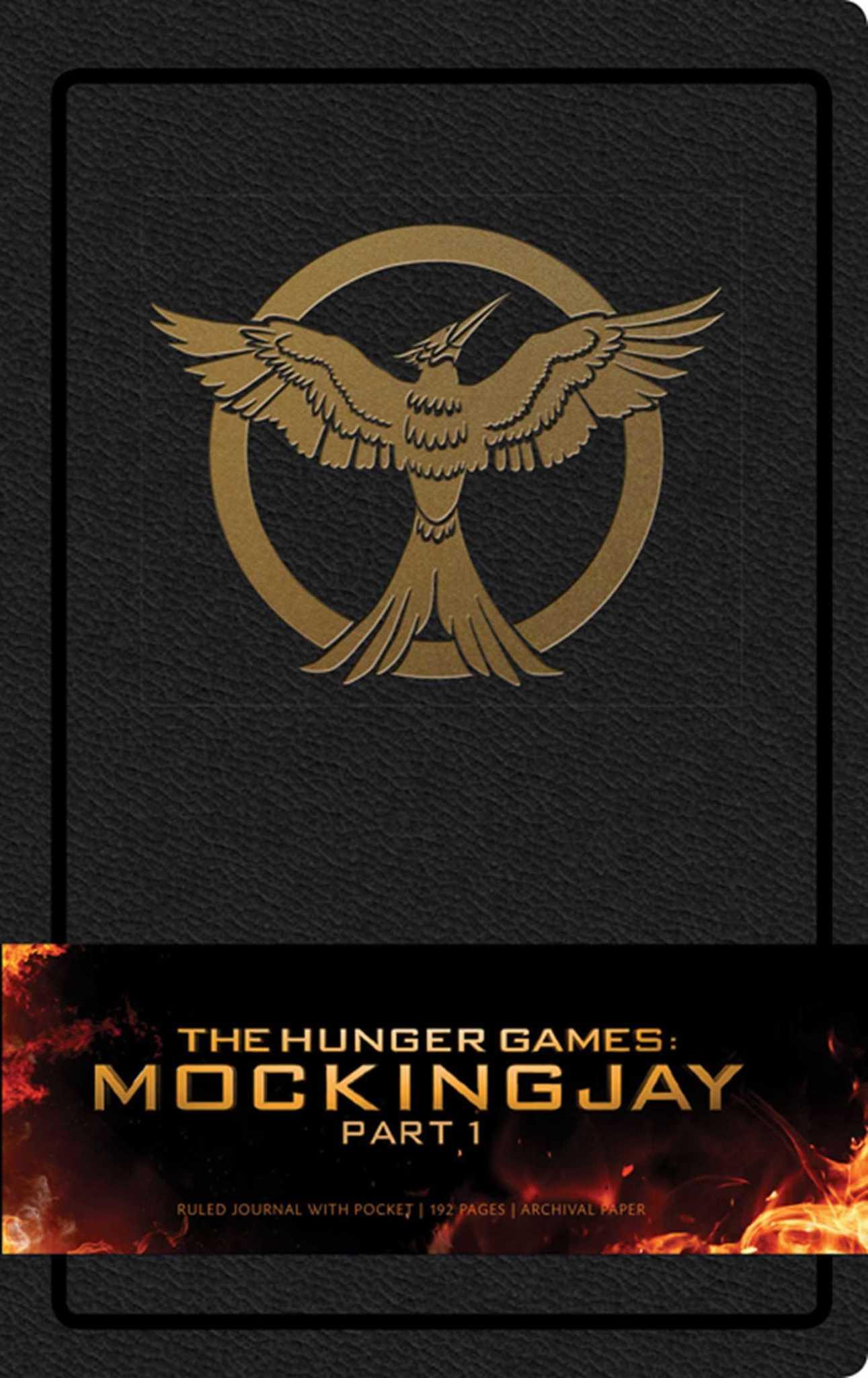 Записная книжка Hunger Games Mockingjay