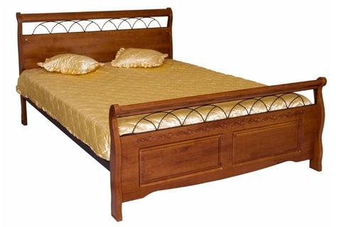 Кровать «Агата» из массива дерева гевея