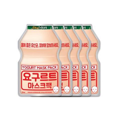 Маска сет Skin'S Boni Yogurt Mask Pack 25ml 5 шт.