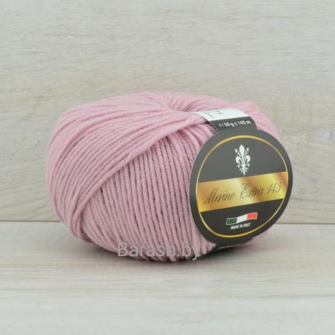 Пряжа Merino Extra 145 (Мерино экстра 145) Сиренево-розовый