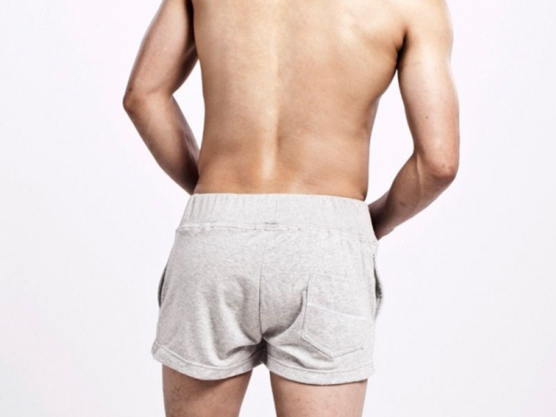 Мужские шорты серые 9 Seobean Shorts Grey 9