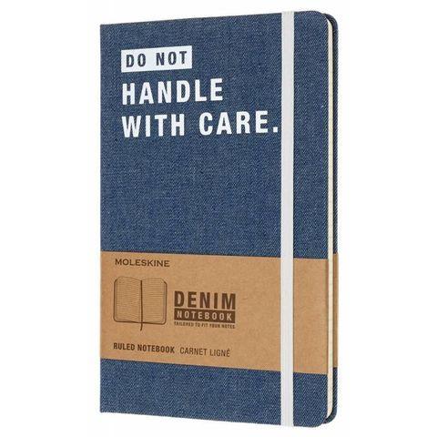 Блокнот Moleskine Limited Edition DENIM NOTEBOOKS LCDNQP060D Large 130х210мм 240стр. линейка Don`t Handle