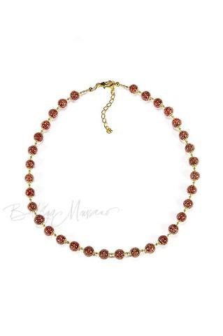 Ожерелье Amato коричневое