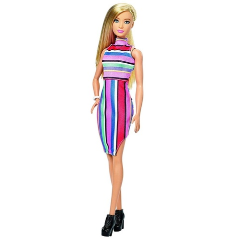 Барби Fashionistas 68 Конфетные Полоски