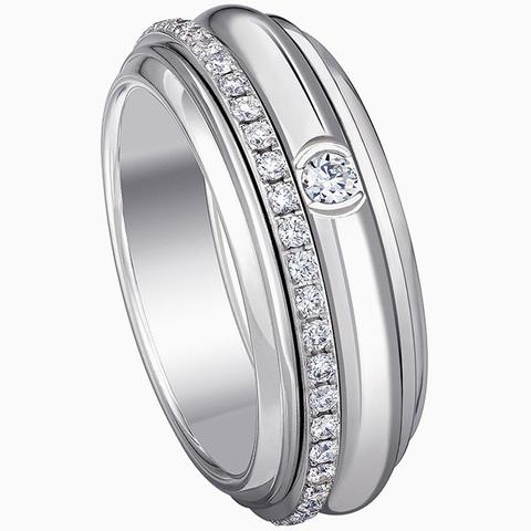Кольцо из серебра с крутящейся серединой