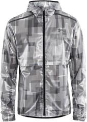 Премиальная ветрозащитная куртка Craft Nanoweight Hood Jkt серая