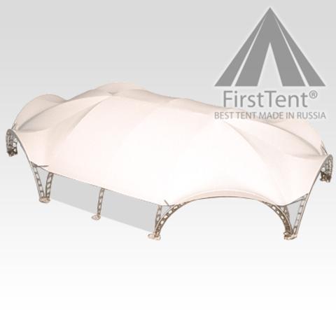 Арочный шатер гексагональ 21,7х15,6