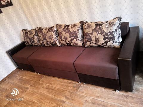 П-образный угловой диван-трансформер